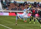 Čempioni zaudē punktus jau pirmajā Baltkrievijas futbola virslīgas spēlē