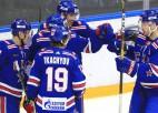SKA pagarinās līgumus ar NHL spēlējušajiem Belovu un Kempainenu