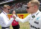 """Hakinens: """"Šogad F1 čempionātā uzvarēs Botass"""""""