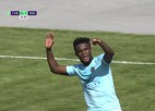 "Video: Kulē Mbombo <i>hat-trick</i> sekmē ""Riga"" uzvaru izbraukumā Tukumā"