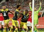 """""""Southampton"""" gūst vārtus kompensācijas laikā un izrauj neizšķirtu pret """"United"""""""