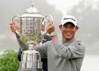"""Morikava tikai otrajā """"major"""" turnīrā kļūst par """"PGA Championship"""" uzvarētāju"""