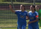 Video: Krasnovai divi vārtu guvumi, Rīgas Futbola skolas dāmas sezonu turpina perfekti
