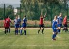 Sieviešu futbola līgās pēc sezonas pirmās puses vadībā RFS un Liepājas komandas