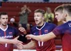 Latvijas volejbolistiem varens sets cīņā pret EČ kvalifikācijas grupas favorītiem