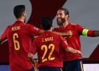 Ramosam divi vārti Spānijas uzvarā, Vācija joprojām bez uzvarām Nāciju līgā