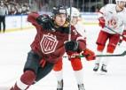 """""""Dinamo"""" tālajā izbraukumā dodas ar 26 hokejistiem, Liponam trauma"""
