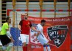 Jaunu Covid-19 gadījumu dēļ aptur telpu futbola Virslīgas sezonu