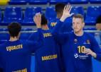 """Aktīvais Šmits aizpilda statistikas ailes, """"Barcelona"""" pagarinājumā uzvar PAO"""