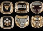 ''Bulls'' apsarga seši NBA gredzeni pārdoti izsolē par 255 tūkstošiem ASV dolāru