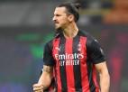 """Zlatans turpina uguņot, """"Milan"""" trīsreiz nenotur vadību pret """"Roma"""""""
