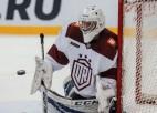 """Vītols: """"Žēl, ka zaudējām, bet savu pirmo KHL spēli noteikti izbaudīju"""""""