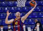 Eirolīgas līderu cīņa: Strēlnieka CSKA uzņems Šmita ''Barcelona''