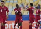 Pasaules kausa rīkotāja Katara ārpus konkurences spēlēs Eiropas atlases grupā