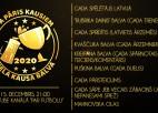 """Šovakar """"Pa Pāris Kausiem"""" dalīs balvas Latvijas futbola gada izcilniekiem"""