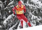 Bez norvēģiem Krievijas izlase neapturama - aizņem pirmās piecas vietas 15 km