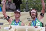 Foto: Samoilovs un Šmēdiņš saņem četru zvaigžņu turnīra bronzu