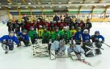 Foto: Bijušais NHL spēlētājs Āris Brīmanis Liepājā pasniedz paraugklases