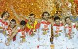 Foto: Eiropas čempionātā triumfē Spānija