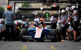 Foto: F1 piloti <i>iesilda</i> jauno Baku trasi