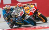 Foto: Viens no pēdējo sezonu dramatiskākajiem MotoGP posmiem