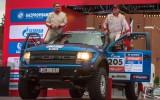 """Foto: Latvijas komandai uzvara rallijreidā """"Silk Way Rally"""""""