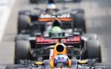 Foto: Dramatiskais F1 posms leģendārajā Spā-Frankošamps trasē