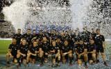 Foto: DĀR uzvar mājās, Jaunzēlande turpina perfekti