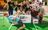 """Foto: Aizvadīts pirmais """"Riga Floorball Shootout"""""""