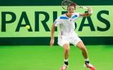 Foto: Juška un Podžus Valmierā piekāpjas Austrijas tenisistiem