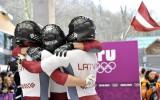 Foto: Melbārža četrinieks izcīna olimpisko spēļu sudrabu!