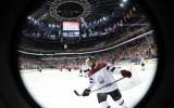 Foto: Latvija pasaules čempionātā ar 2:4 piekāpjas Čehijai