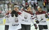 Foto: Masaļskis, Džeriņš un Daugaviņš kaldina Latvijas uzvaru