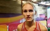 """400m ātrākā eiropiete Latiševa-Čudare: """"Esmu ļoti, ļoti gandarīta par izdarīto"""""""