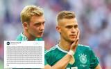 """Vācijas preses reakcija un """"Twitter"""" čalas par čempionu izstāšanos"""
