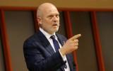 Koziols uzteic valdības nolūku runāt ar IIHF, atsakās vērtēt Baltkrievijas režīmu