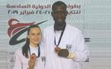 Jolantai Tarvidai bronza pasaules reitinga turnīrā Ēģiptē