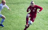 Miksone nerealizē pendeli, Latvijas futbolistes pirmo apli noslēdz bez punktiem