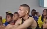 Video: Futbolists un ģimene līksmo par izsaukumu uz izlasi