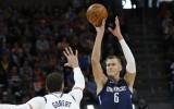 Porziņģa metiens ļauj latviešiem sasniegt 10 000 NBA punktu robežu
