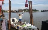 Kārlis Bardelis airu laivā šķērso Kluso okeānu