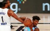 """""""Suns"""" turpina perfekti, Batlers uzveic Vorenu, Kuzmam uzvaras metiens"""