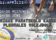 Sestdien Beach Box hallē notiks Rīgas pamatskolu pavasara kauss pludmales volejbolā