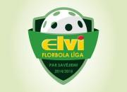 ELVI florbola līgā klāt izšķirošās spēles par medaļām