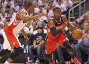 """""""Wizards"""" atklāj NBA <i>play-off</i> ar uzvaru papildlaikā pār Toronto"""