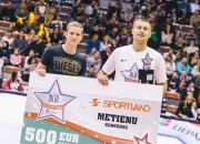 Aldaris LBL Zvaigžņu spēle: Sportland metienu konkursā uzvar Mārtiņš Laksa