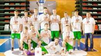 Valmieras U-16 basketbolisti izcīna LJBL čempiontitulu