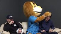 """Futbolbumbas: Lauva sarīko šovu, """"Riga"""" par futbolu kā izklaidi"""