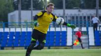 Baltkrievijas čempionātā vārtsargs no sava soda laukuma panāk izlīdzinājumu