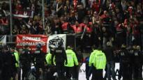 Barjera neiztur Lilles fanu svinības, trīs līdzjutēji nopietni cietuši